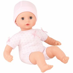 Poupon Muffin fille body rose (33 cm)