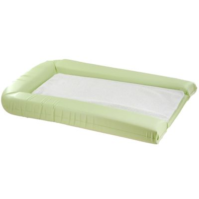 matelas langer et 2 ponges vert anis 42 x 70 cm par doux nid. Black Bedroom Furniture Sets. Home Design Ideas