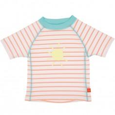Tee-shirt de protection UV à manches courtes Splash & Fun marin pêche (18 mois)