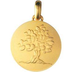 Médaille ''Je Grandirai comme un Arbre'' (or jaune 750°)