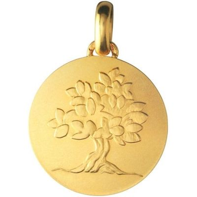 Médaille 'Je Grandirai comme un Arbre' (or jaune 750°)  par Monnaie de Paris