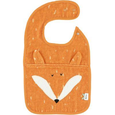 Bavoir à pression renard Mr. Fox  par Trixie