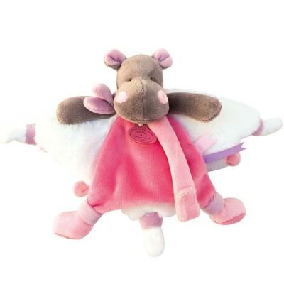 Doudou plat hippopotame Tatoo Doudou et Compagnie