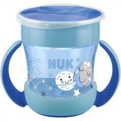 Tasse d'apprentissage 360° Mini Magic Cup bleue (160 ml)