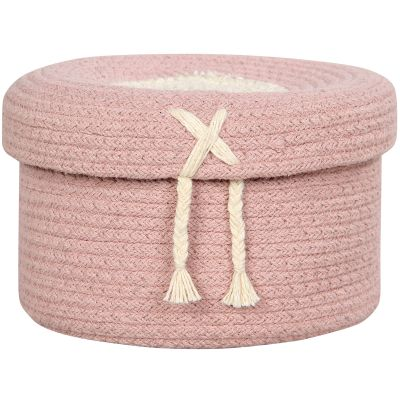 Panier de rangement Candy Box rose (13 x 20 cm) Lorena Canals