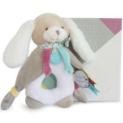 Doudou hochet Toopi chien (17 cm) Doudou et Compagnie