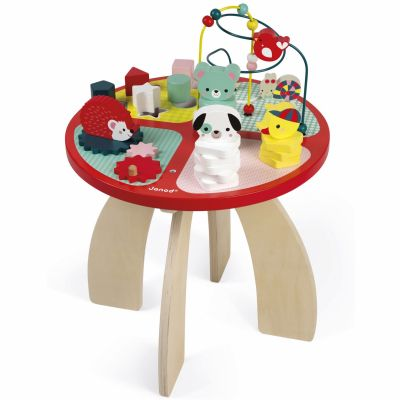 Table d'activités baby forest  par Janod