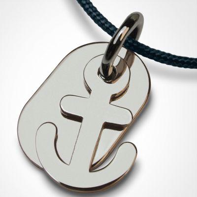 Collier cordon Popeye (argent 925°)  par Mikado