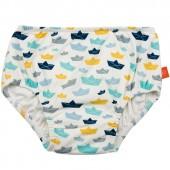 Maillot de bain couche lavable Splash & Fun bateau en papier (6 mois) - Lässig