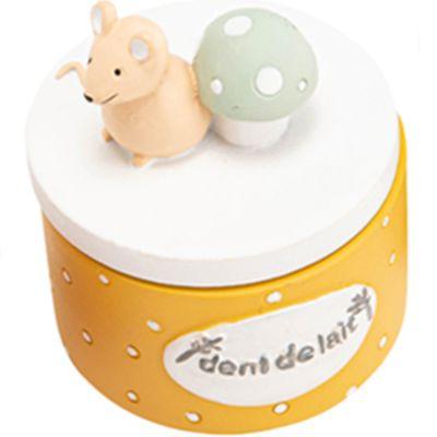 Boîte à dents Léon jaune  par Amadeus Les Petits