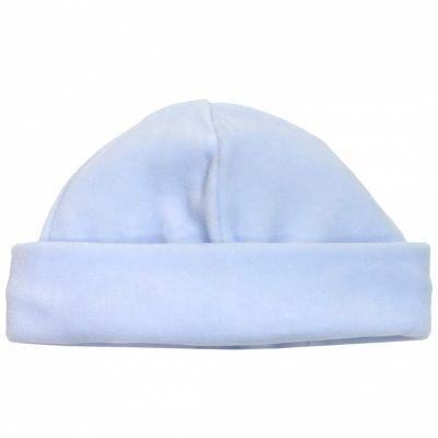 Bonnet de velours bleu (naissance)  par Cambrass
