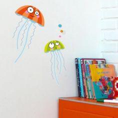 Stickers muraux Les méduses