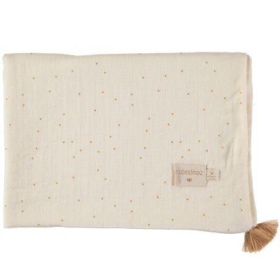 Couverture d'été bébé Honey sweet dots (70 x 100 cm)  par Nobodinoz