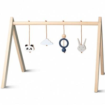 Arche de jeux en bois bleu  par Liewood