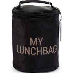 Sac isotherme My lunchbag noir et or