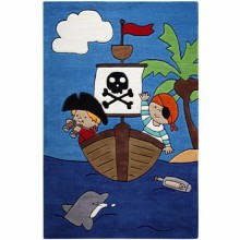 Tapis Pirate Kids (110 x 170 cm)  par Smart Kids