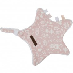 Doudou attache sucette Adventure pink