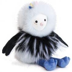 Peluche oiseau Piaf Pouf (30 cm)