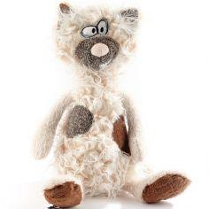 Peluche chat Kiez Miez (35 cm)