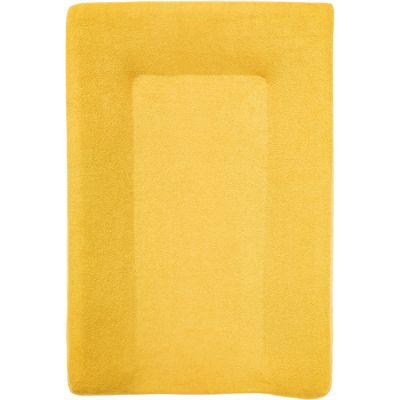 Housse de matelas à langer en éponge Jaune moutarde (50 x 70 cm)