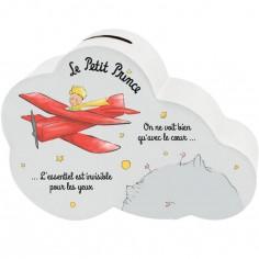 Tirelire Le Petit Prince nuage avion