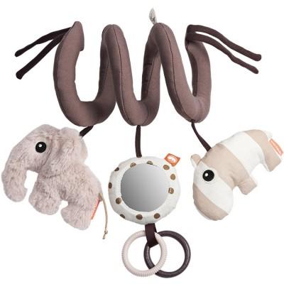 Spirale d'activités Elphee l'éléphant rose  par Done by Deer