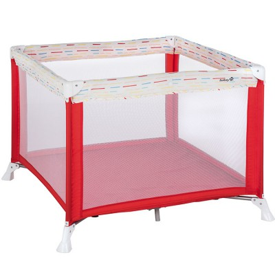 Lit parc pliant Circus Red  par Safety 1st