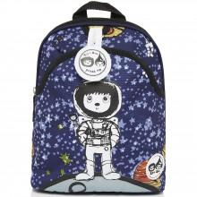 Sac à dos bébé Spaceman bleu marine  par Zip & Zoé