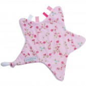 Doudou étoile Pink blossom - Little Dutch
