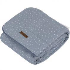 Couverture de lit pure & soft Blue sprinkles (110 x 140 cm)