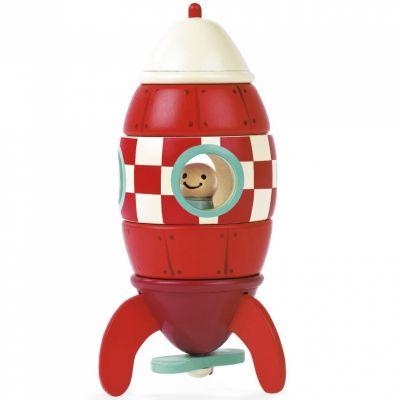 Kit magnets fusée à construire  par Janod