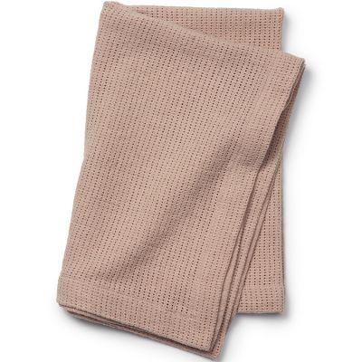 Couverture en coton rose Powder Pink (70 x 100 cm)  par Elodie Details