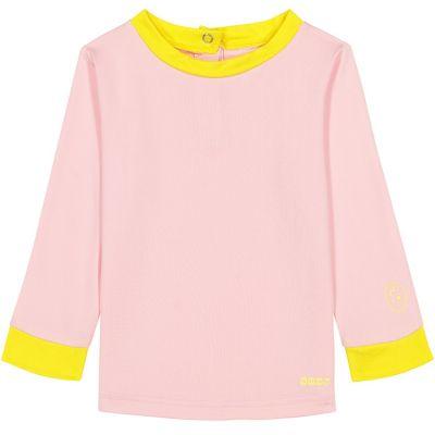 Tee-shirt manches longues anti-UV Pop pink (6 mois)