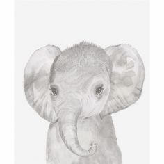 Affiche Welcome to the world Eléphant (30 x 40 cm)
