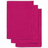 Lot de 3 gants fuchsia - Jollein