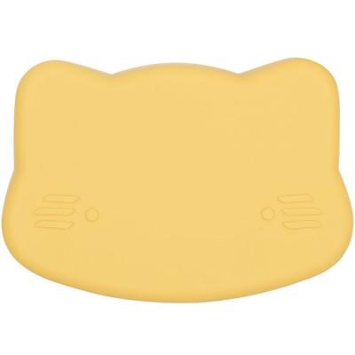 Boîte à goûter 3 en 1 chat jaune We Might Be Tiny