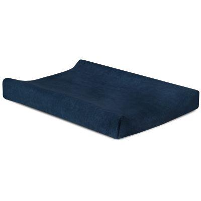 housse de matelas langer bleu marine 50 x 70 cm. Black Bedroom Furniture Sets. Home Design Ideas
