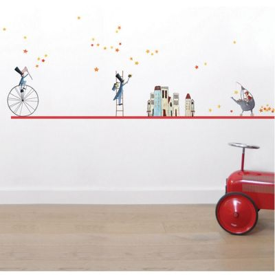 stickers a3 les semeurs d 39 toiles by manuela magni 29 7 x. Black Bedroom Furniture Sets. Home Design Ideas