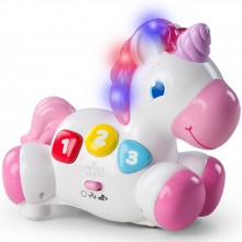 Licorne musicale Rock and Glow  par Bright starts