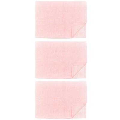 Lot de 3 langes en mousseline Pink Bows (55 x 55 cm)  par Les Rêves d'Anaïs