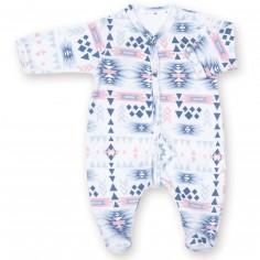 Pyjama léger jersey Apawi shade (naissance : 50 cm)