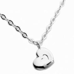 Collier enfant Petit coeur (argent 925° rhodié)