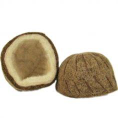 Noix de coco en feutrine