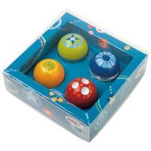 Lot de 4 boules découverte  par Haba