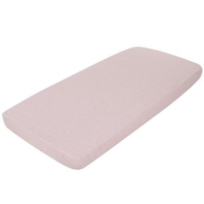 drap housse peach melange 60 x 120 cm little dutch. Black Bedroom Furniture Sets. Home Design Ideas