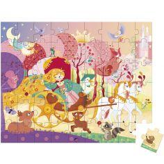 Puzzle Princesse et carrosse (54 pièces)
