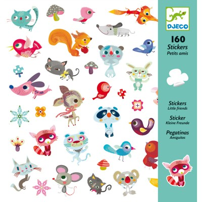 Stickers Petits amis Djeco