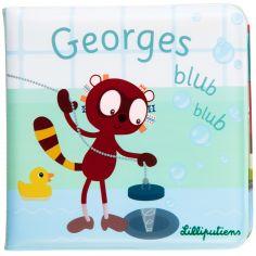 Livre de bain bébé Georges Blub Blub