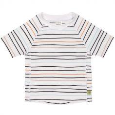 Tee-shirt anti-UV manches courtes Marin pêche (2 ans)