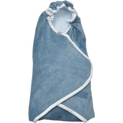 couverture nomade nouveau n scandinavian flanne steel bleu gris 0 3 mois par lodger. Black Bedroom Furniture Sets. Home Design Ideas